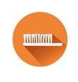 Toothbrush symbol vector image