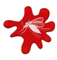 fly transmitter isolated icon vector image