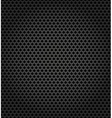 Metallic surface gray dark background vector image vector image
