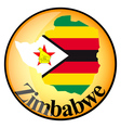 Button zimbabwe vector