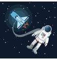 Space icon design vector image