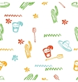 seamless mexican pattern Mexican tequila vector image