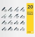 Writing Tools vector image