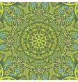 green spring geometric seamless tribal pattern vector image