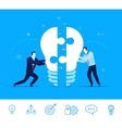 business concept Businessmen vector image