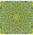 green spring geometric seamless tribal pattern vector image