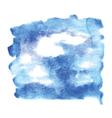 sky watercolour vector image