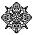 Pattern black vector