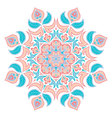 Oriental decorative elementIslam Arabic Indian vector image