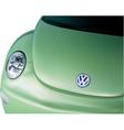 beetle new vector image