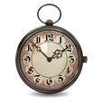 Rusty Pocket Watch vector image