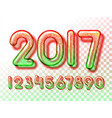 2017 snowball invitation vector image