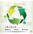Recycle Concept Graphic Element vector image