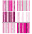 pink striped pattern vector image
