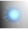 Glow light effect EPS 10 vector image
