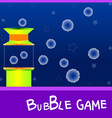 game board bubble vector image