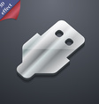 USB icon symbol 3D style Trendy modern design with vector image vector image