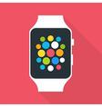 Smart Watch Flat Stylized vector image