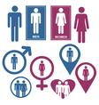 Men and Women Gender Signs vector image