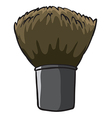 A hard cleaning brush vector image vector image