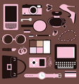 Women accessories vector image