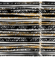 Abstract hand drawn native pattern Seamless vector image