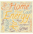 House Energy LCC 1 text background wordcloud vector image