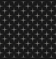 seamless pattern texture with dotted crosses vector image
