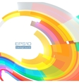 Abstract colorful frame vector image vector image