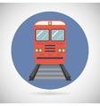 Railway Train Transport Carriage Symbol Railroad vector image