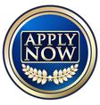 Apply Now Blue Label vector image
