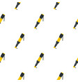 Pneumatic screwdriver pattern flat vector image