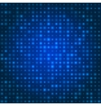 Blue technology background vector image vector image