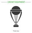 Cricket game equipment vector image