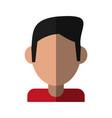 person profile player vector image