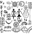 Slavic ethnic elements vector image