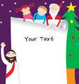 template christmas3 vector image