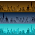 Cityscape backgrounds City in the morning vector image