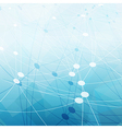 Communications abstract blue background Good for vector image