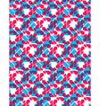 Seamless pattern with arrows colorful multilayered vector image vector image
