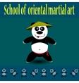 Kung fu Panda vector image