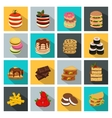 Meal Icon Set vector image