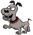 Zombies dog vector image vector image
