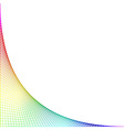 Colored net background or CD cover vector image