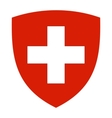 coat of arms of Switzerland vector image vector image