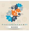 Business Concept Graphic Element vector image