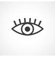 eye symbol vector image vector image