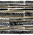 Abstract hand drawn native pattern Seamless vector image vector image
