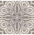 Grey ornament vector image vector image