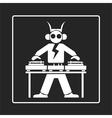 Logo Turntable vector image